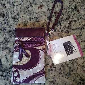 NWT thirty-one pinchtop wristlet